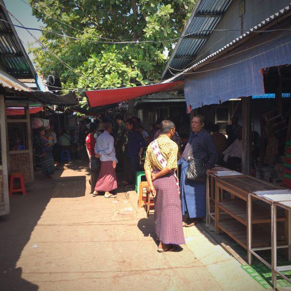 Le marché de Jade de Mandalay
