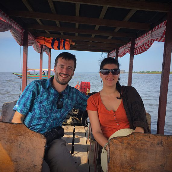 Sur le grand lac du Tonle Sap