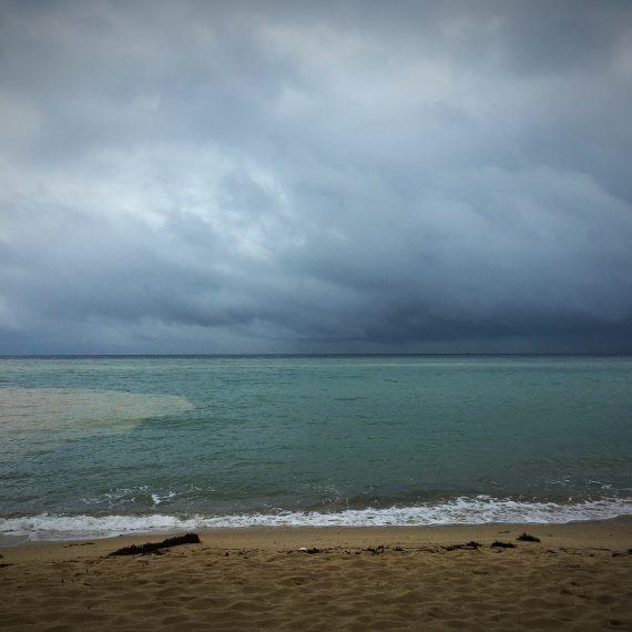 Jour de tempête sur Mae Haad