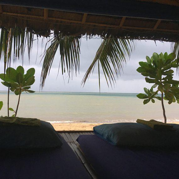 Massages sur la plage