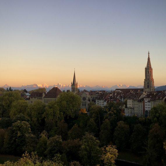 Bern et ses Alpes