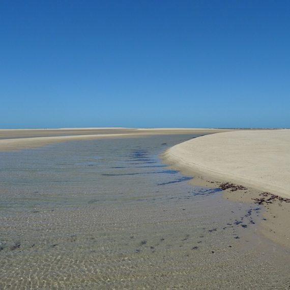 Entre deux dunes de la plage